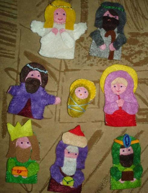 Рождественские вертепы своими руками-14