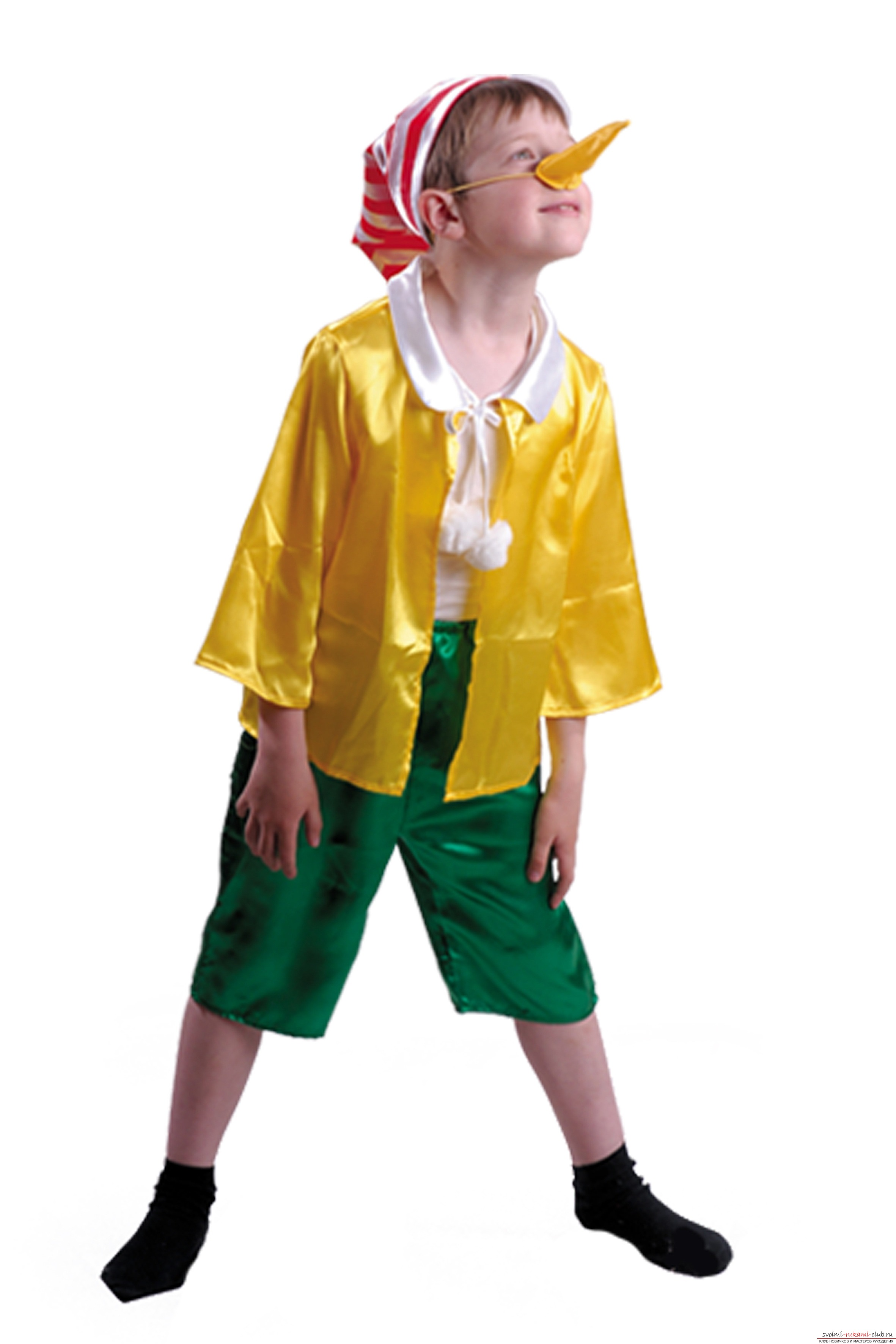 189f063dd75 Карнавальный костюм Буратино своими руками. Мастер-класс и видео