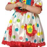 Клоунское платье