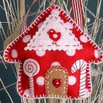 Фетровый домик