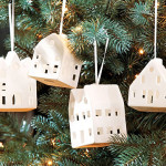 Домики на елке