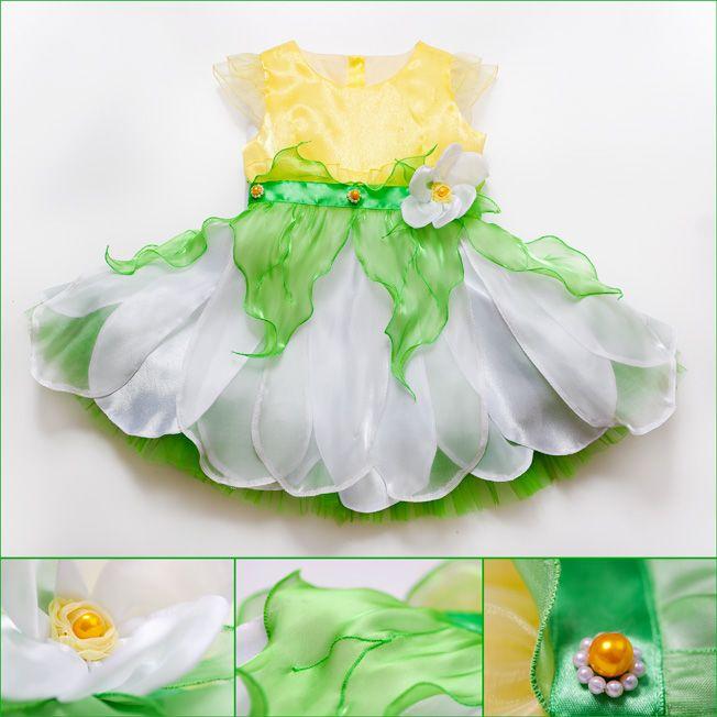 Костюм цветы для девочек своими руками