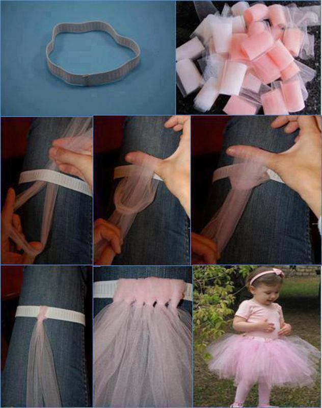 Юбка для малышек своими руками