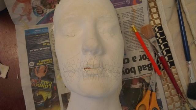 Слепок для маски