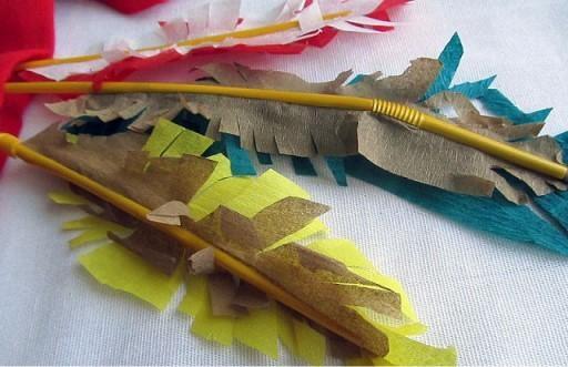 Перья для повязки