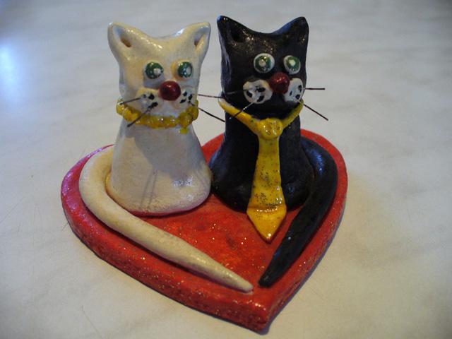 Кот из соленого теста-2