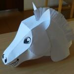 Объемная маска лошади