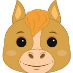 Вариант маски лошади