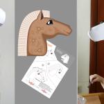 Выкройка лошади