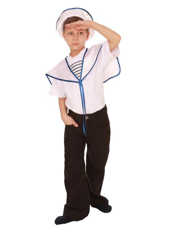 Красивый костюм моряка