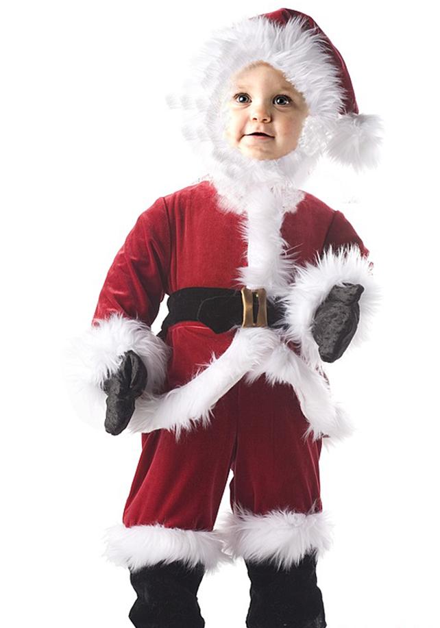 Как сшить костюм деда мороза ребёнку 2