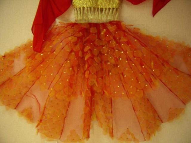 Платье золотой рыбки