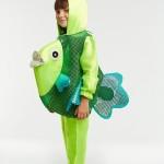 Зеленая рыбка
