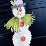 Гофрированный снеговик