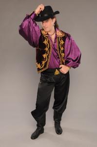 Мужской цыганский костюм