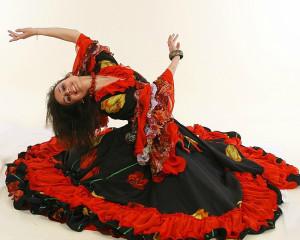 Цыганский карнавальный костюм