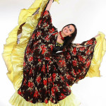 Карнавальный цыганский костюм