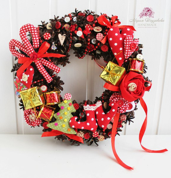 венок на Рождество - можно купить
