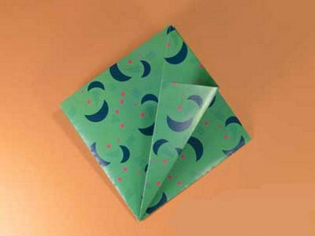 Елка оригами-3