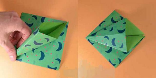 Елка оригами-4