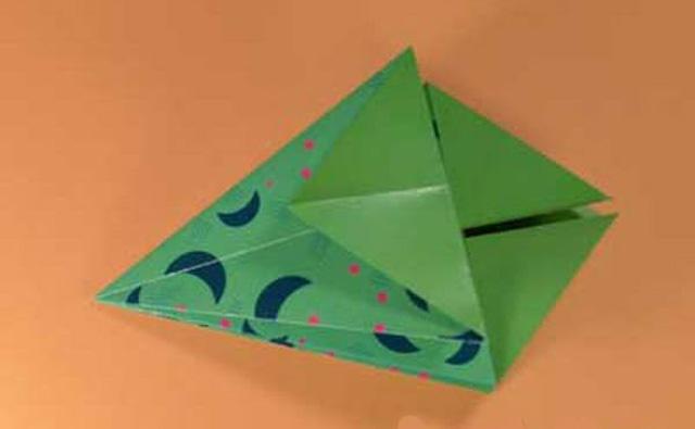 Елка оригами-5