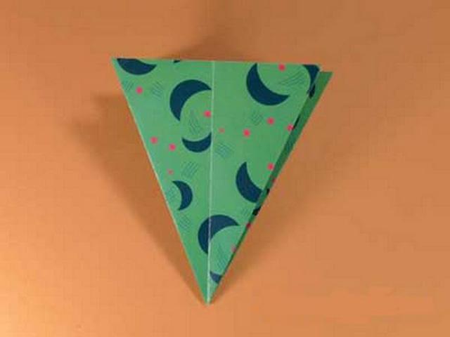 Елка оригами-6