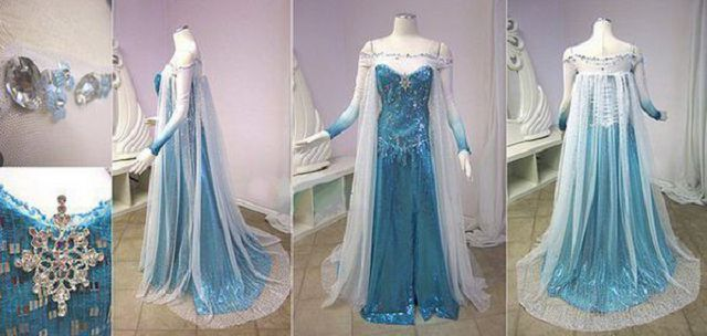 Новогодний костюм принцессы