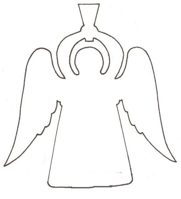 Ангелочки бумажные своими руками