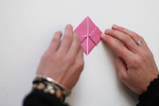 Оригами-сердце