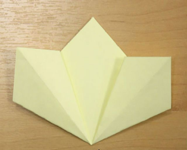 Оригами-шар на новогоднюю елку