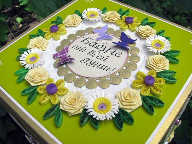 Открытки на день рождения бабушкам от руки