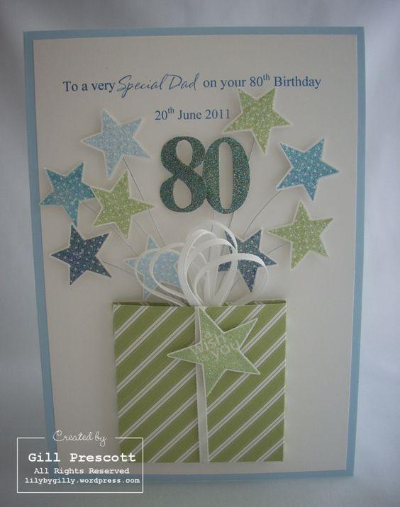 Открытка своими руками на день рождения деду от внучки