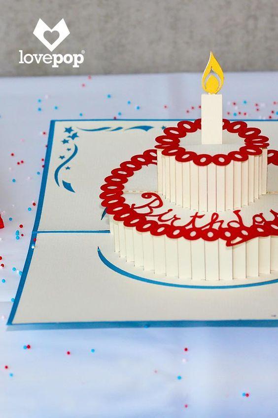 Открытки торт мастер класс