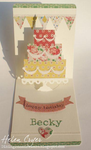 которой присутствуют открытка торт раскладушка изменяя себе настоящей