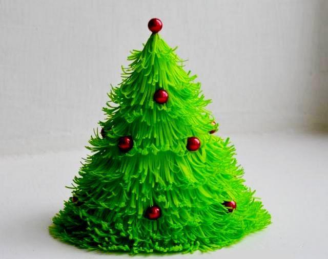 Делаем рождественскую елочку