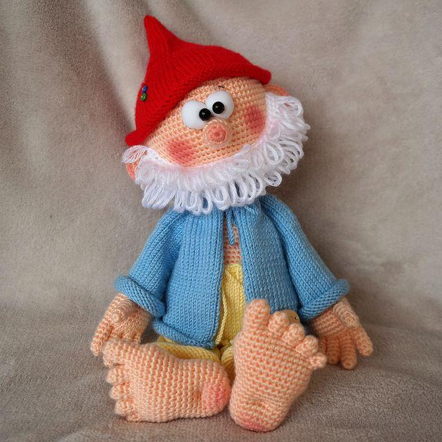 Мягкая игрушка своими руками вязаный заяц