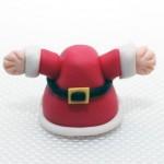 Лепим Деда Мороза из мастики