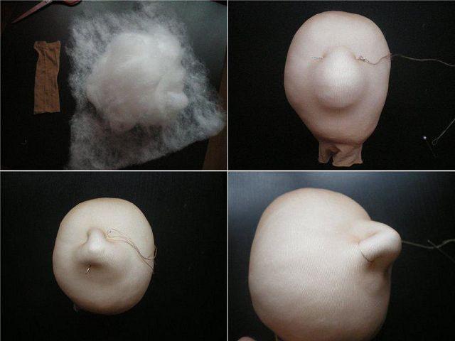 Как сделать лицо вязаной кукле пошаговая инструкция детское лицо