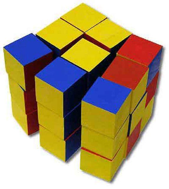 Схема кубик трансформер