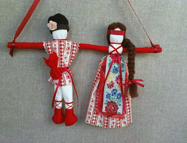 Как сделать своими руками куклу неразлучники своими руками
