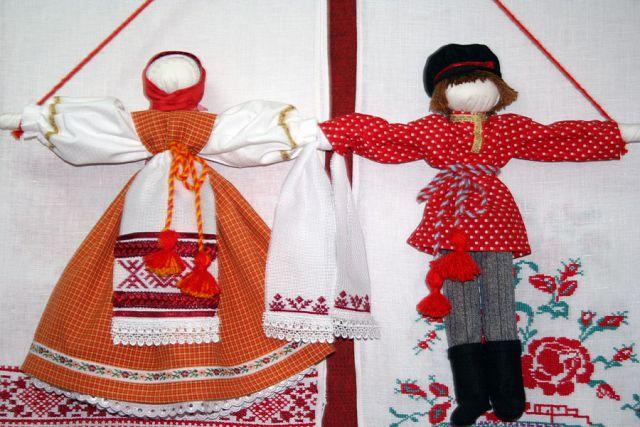 Кукла неразлучники оберег своими руками
