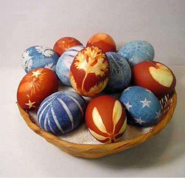 Яйца к паске мастер класс поделка #14