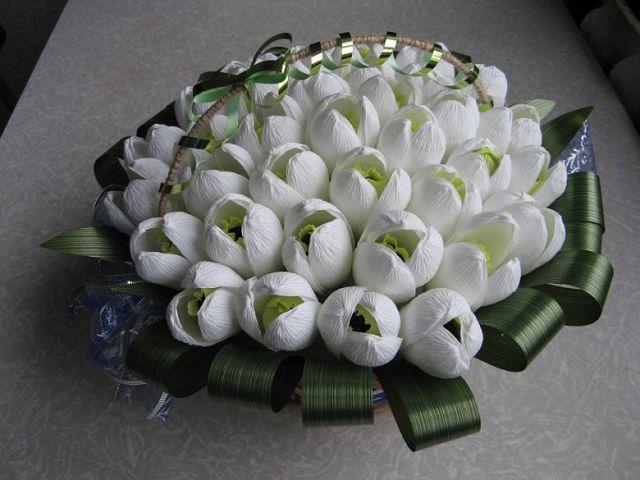 Подарок своими руками к 8 марта цветы
