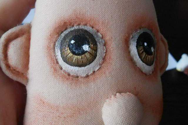 Мастер класс росписи лица куклы-карамельки-5