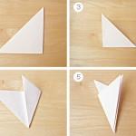 гирлянды из бумажного снега-2