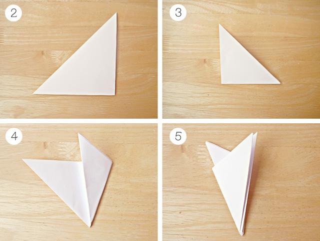 Как сделать гирлянды из бумаги снежинки