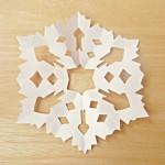 гирлянды из бумажного снега-4