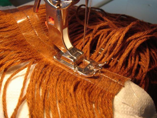 Как сделать волосы для куклы барби из ниток