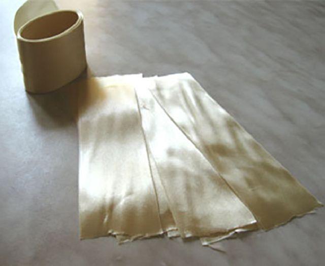 Как сделать ленту кудрявой
