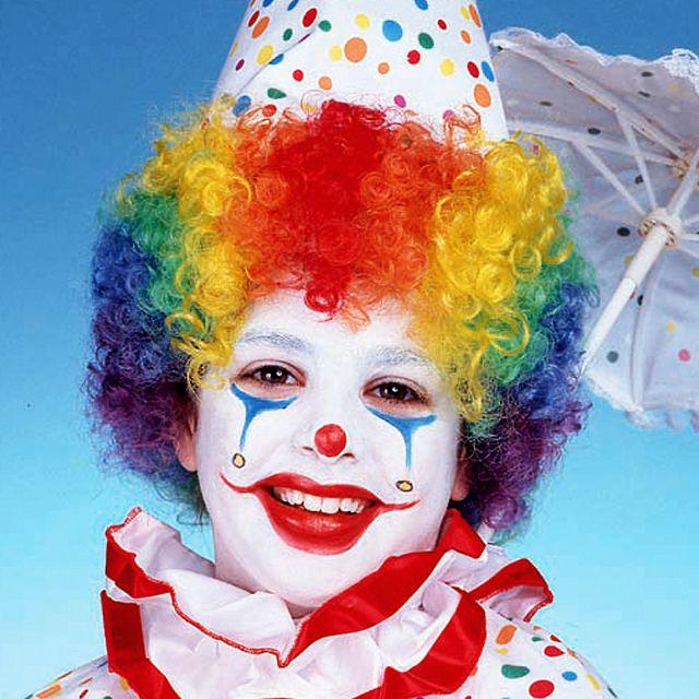 Парики для клоунов своими руками